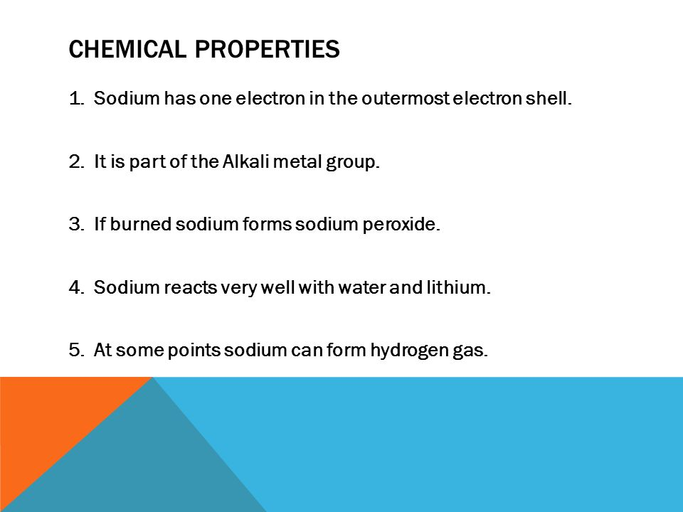 chemical properties of water pdf
