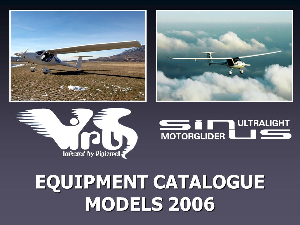 EQUIPMENT CATALOGUE MODELS 2006