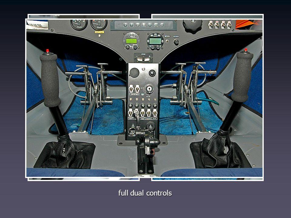full dual controls