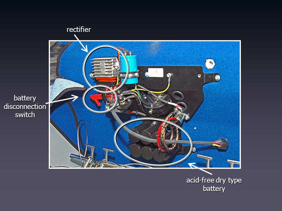 acid-free dry type battery