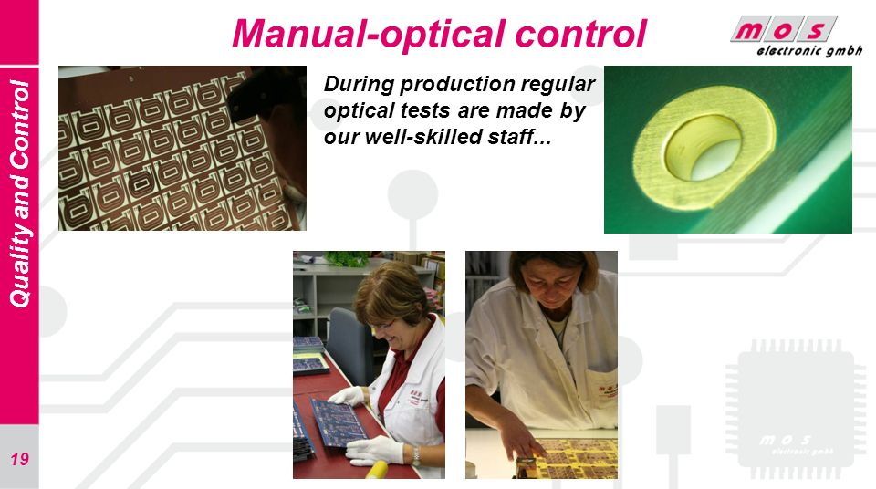 Manual-optical control