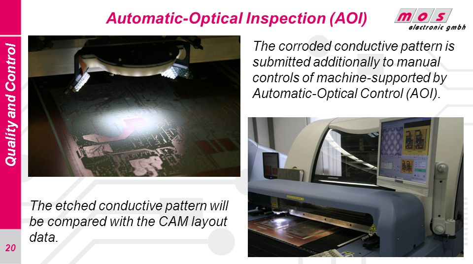Automatic-Optical Inspection (AOI)
