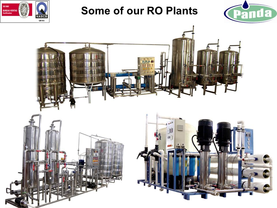 Some of our RO Plants
