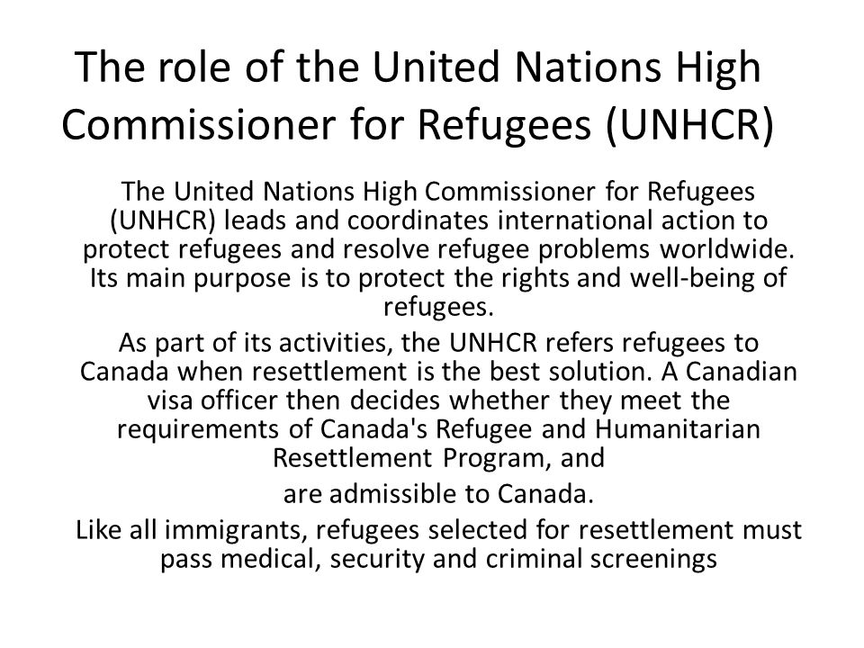 Canada role in the united nations essay