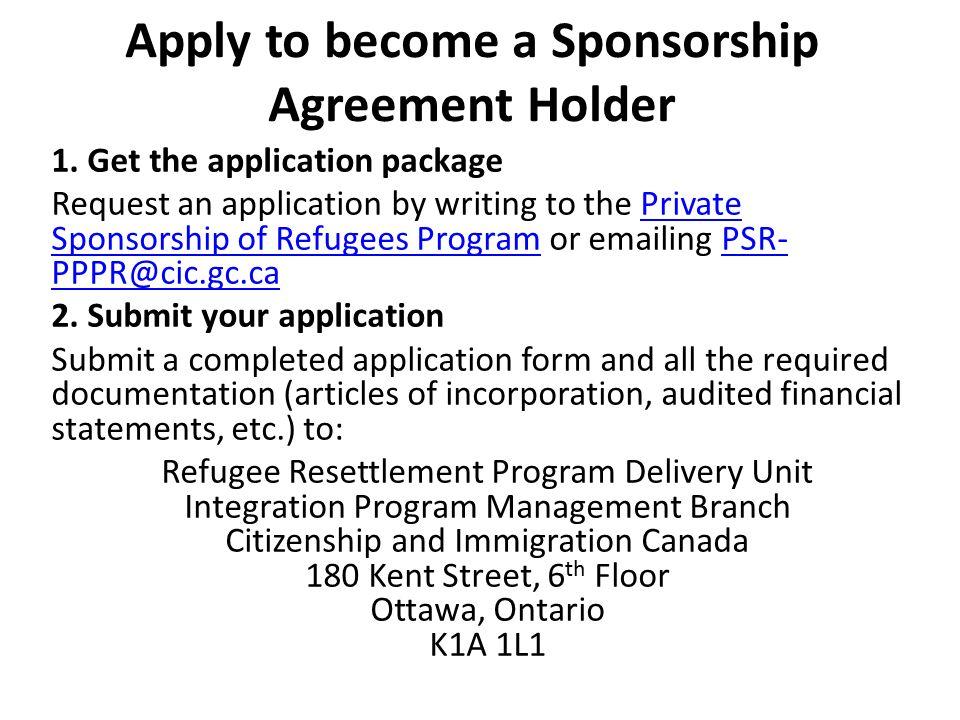 Private sponsorship of refugees - ppt video online download