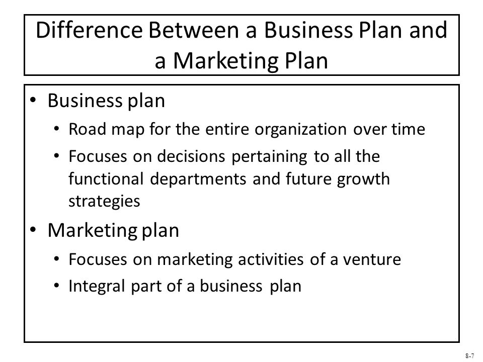 Business Plan Vs. Feasibility Study