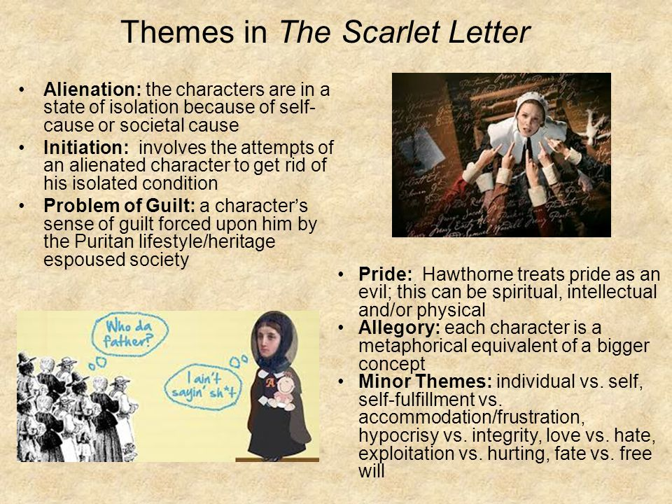the evil of isolation in the scarlet letter Isolation in the scarlet letter in the new testament it states that the wages of sin is death though the penalty of sin in the scarlet letter is not a termination of life, the evil.
