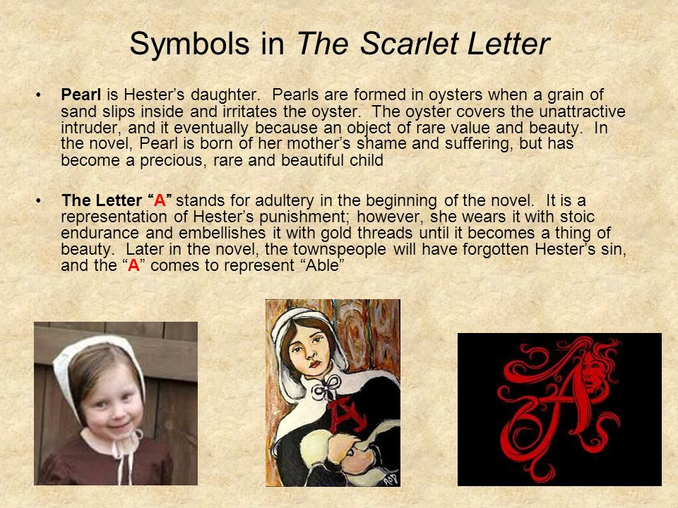 The Symbolism In The Characters Of The Scarlet Letter By Nathaniel