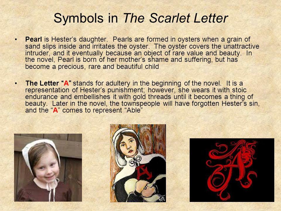 Pearl Scarlet Letter Keninamas
