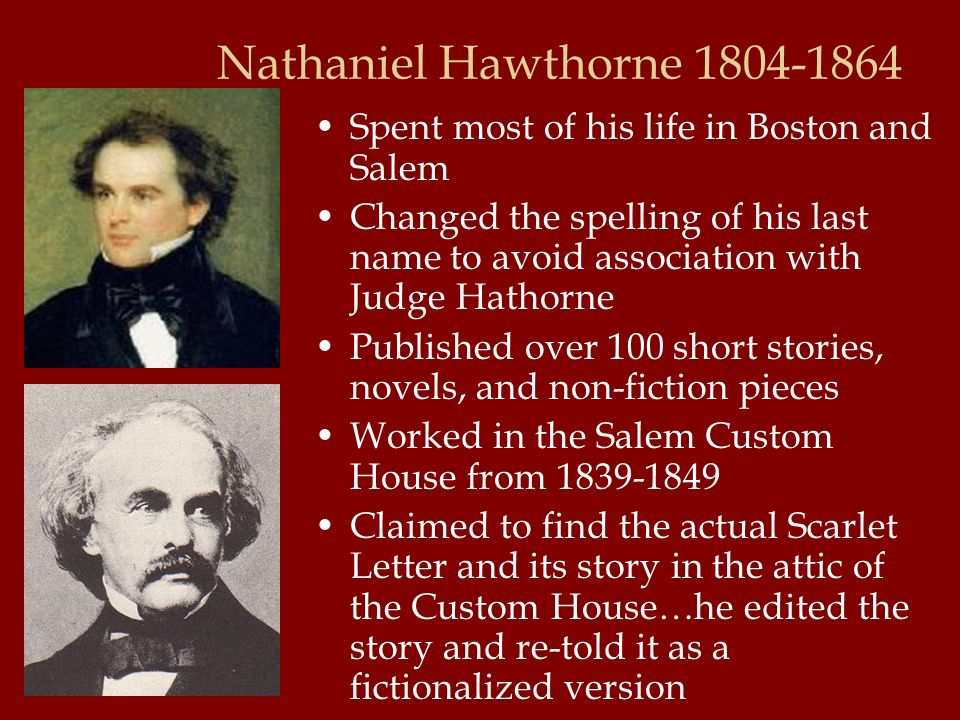 account of the life and works of nathaniel hawthorne With an overdrive account the complete works of nathaniel hawthorne: novels the life and genius of hawthorne by frank preston stearns.