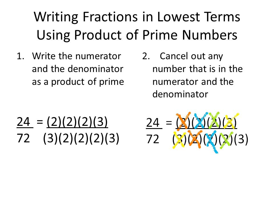 write 40 as a product of prime factors Every number can be written as a product of prime numbers remember: 'product' means 'times' or 'multiply' for example 40.