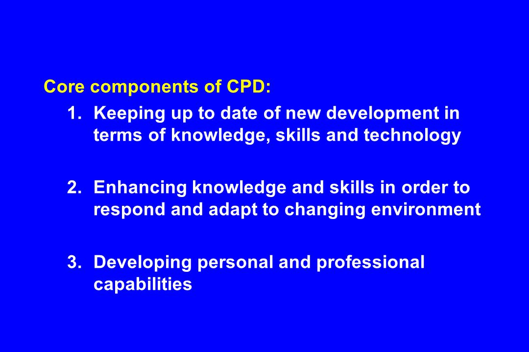 continuing professional development  cpd  in pharmacy