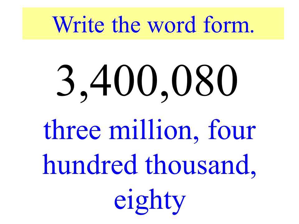 How to write one thousand eight hundred in french