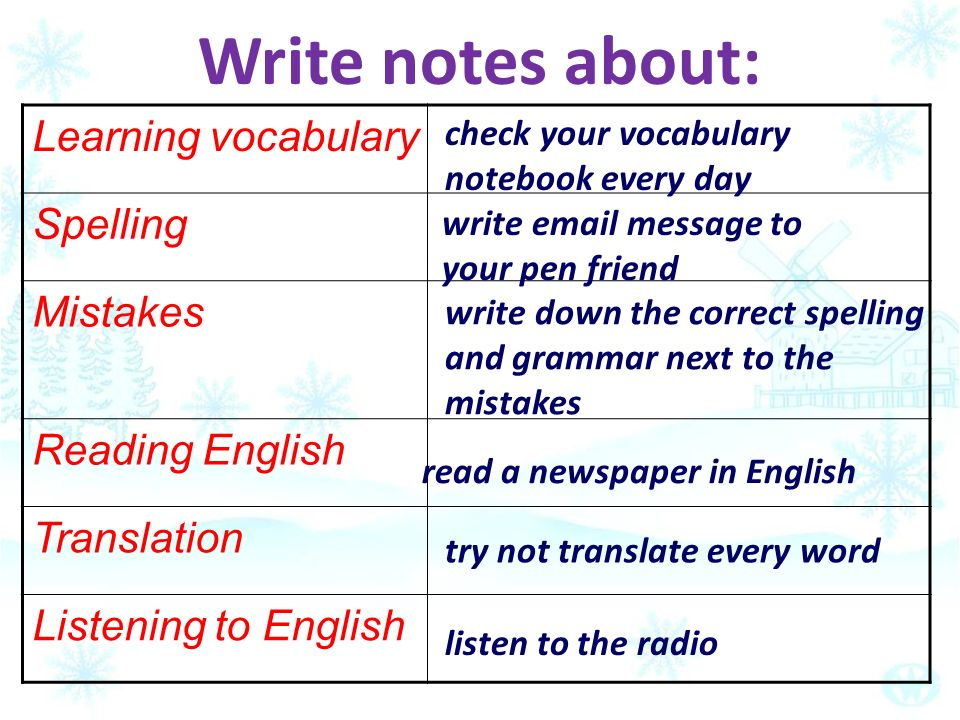 listen and learn english