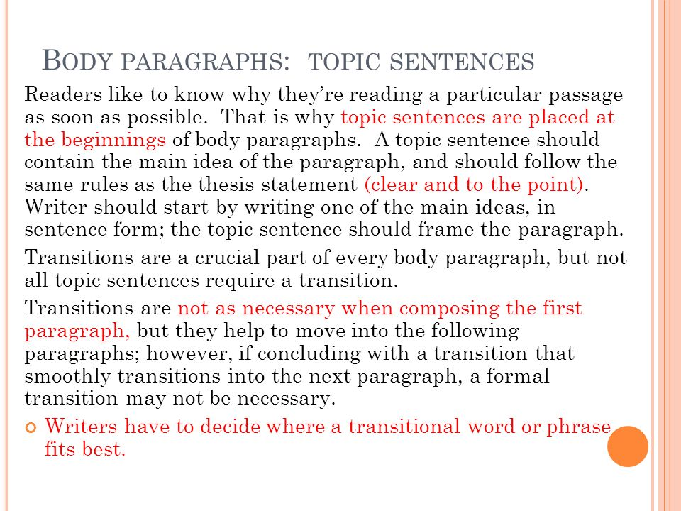 topic where should we begin to How to write an informative essay to let them know more  each body paragraph must start out with a topic sentence  we here at essaypro, .