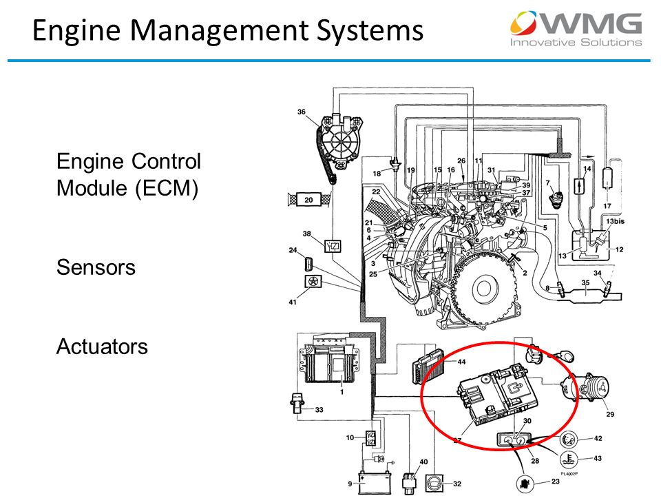 engine management systems and calibration