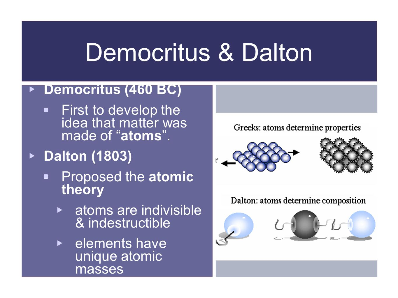 History of atomic theory ppt video online download history of atomic theory 2 democritus ccuart Gallery
