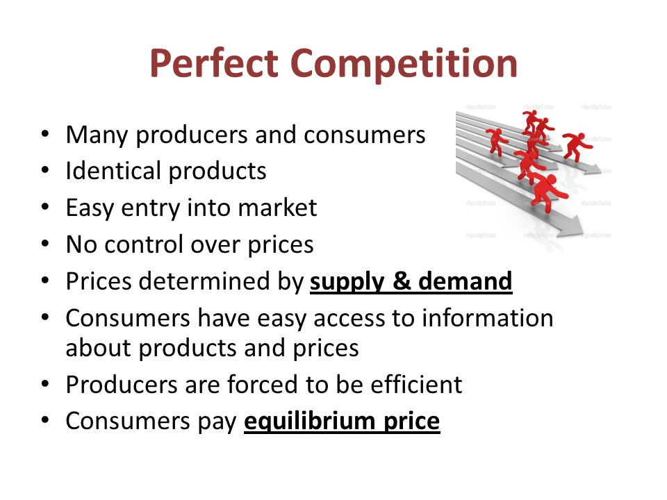 economics perfectly competitive market structure