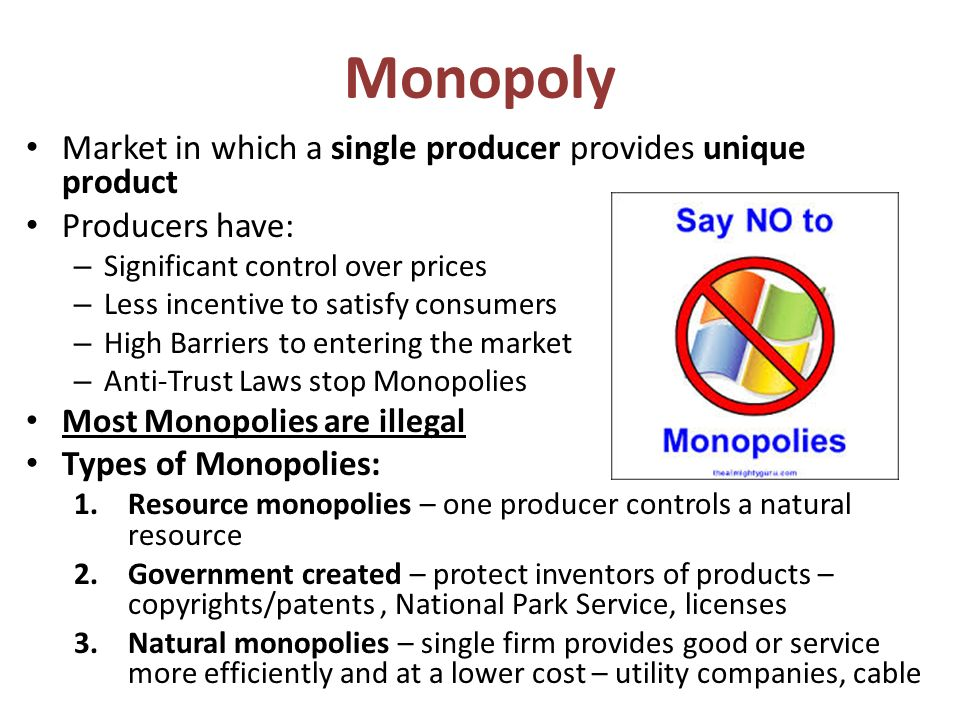 us government charges microsoft of monopolistic practices The first antitrust laws in the us focused on monopolies armed with the  sherman antitrust act of 1890, the federal government went after  nearly 20  years later, the department of justice sued microsoft over monopolistic practices   an organization that is going to take more or less a fixed fee for looking.