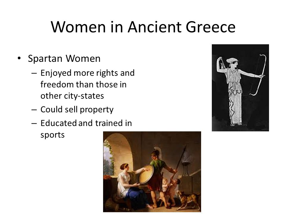 the participation of women in sports in ancient greece Dating back to ancient greece where women were not  inequality of women in  in order to keep women in sports and increase the participation.