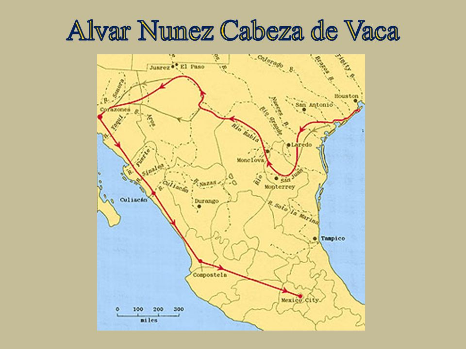 cabeza de vaca an early explorer and first historian of texas South texas history the spanish explorer, cabeza de vaca, was the first person to write about the native americans of south texas the native american people he met .