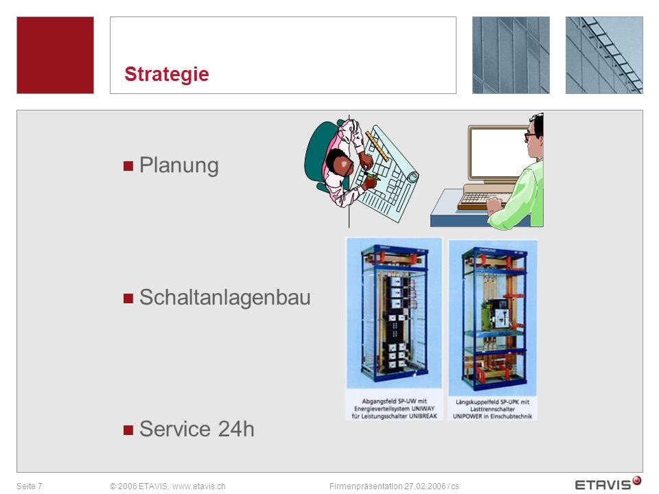 Strategie Planung Schaltanlagenbau Service 24h