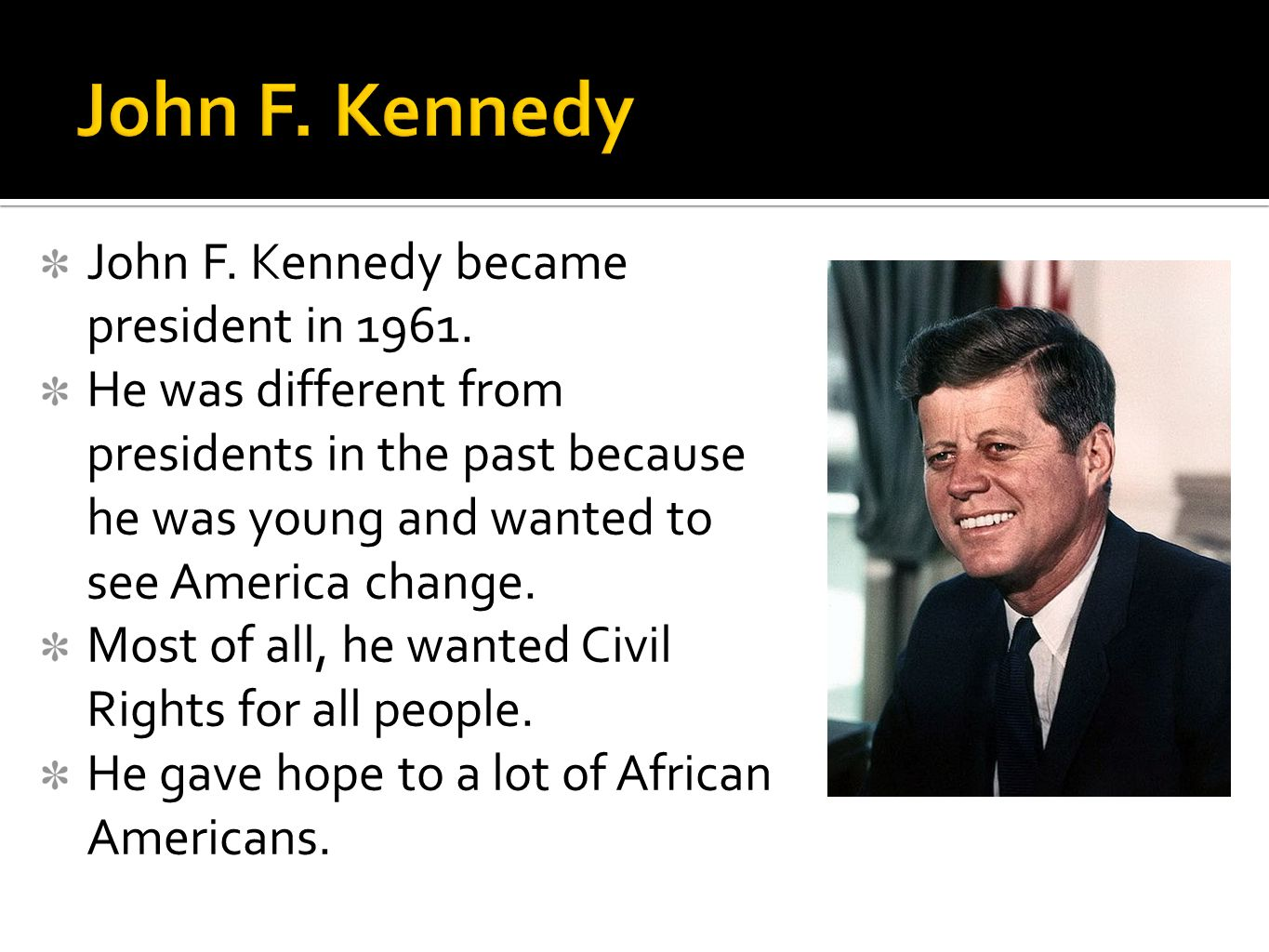 What Happened To Hope And Change >> Civil Rights Heroes SS5H8c: - ppt video online download
