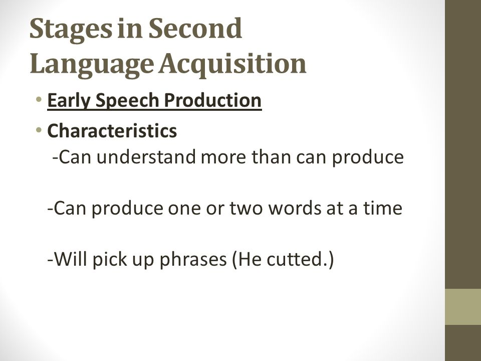 the characteristics of language acquisition and The role of task and listener characteristics in second language  you will be asked to authorise cambridge core  the handbook of second language acquisition.