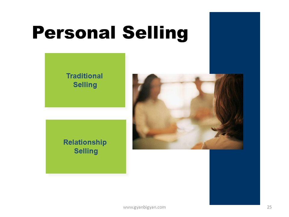 traditional selling and trust based relationship