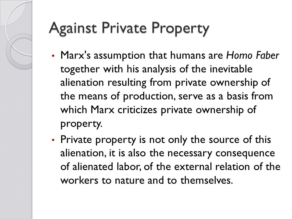 an analysis of the alienated labor by karl marx Karl marx and estranged labor essay - karl marx and estranged labor marx on page 327 of his essay estranged labor is describing what to him were the fundamental conditions of labor under capitalism and why the critique contains marx's most developed economic analysis and philosophical.