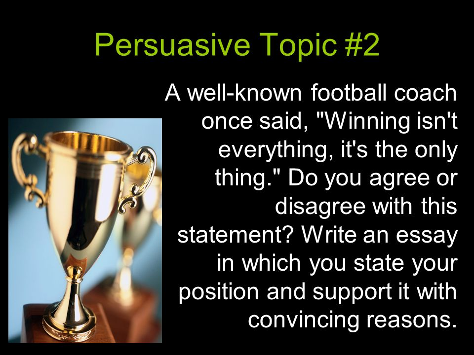 "persuasive essay football Persuasive essay- final draft (just need citations) posted on march 22  and even the high school football coach said ""this community is going to die."