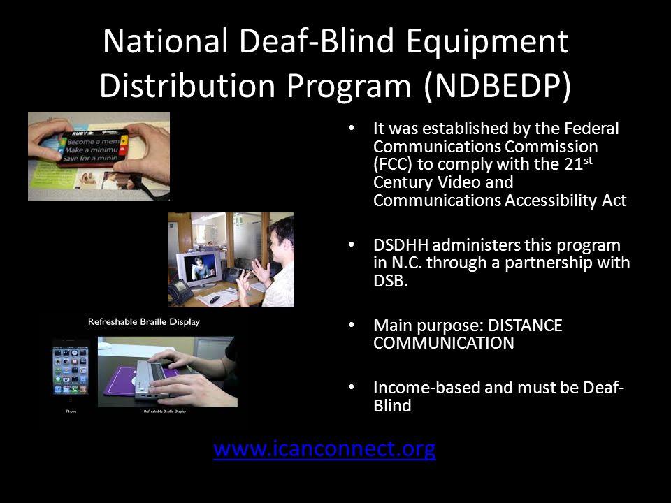 Support Services For Deaf Blind In N C Ppt Video Online