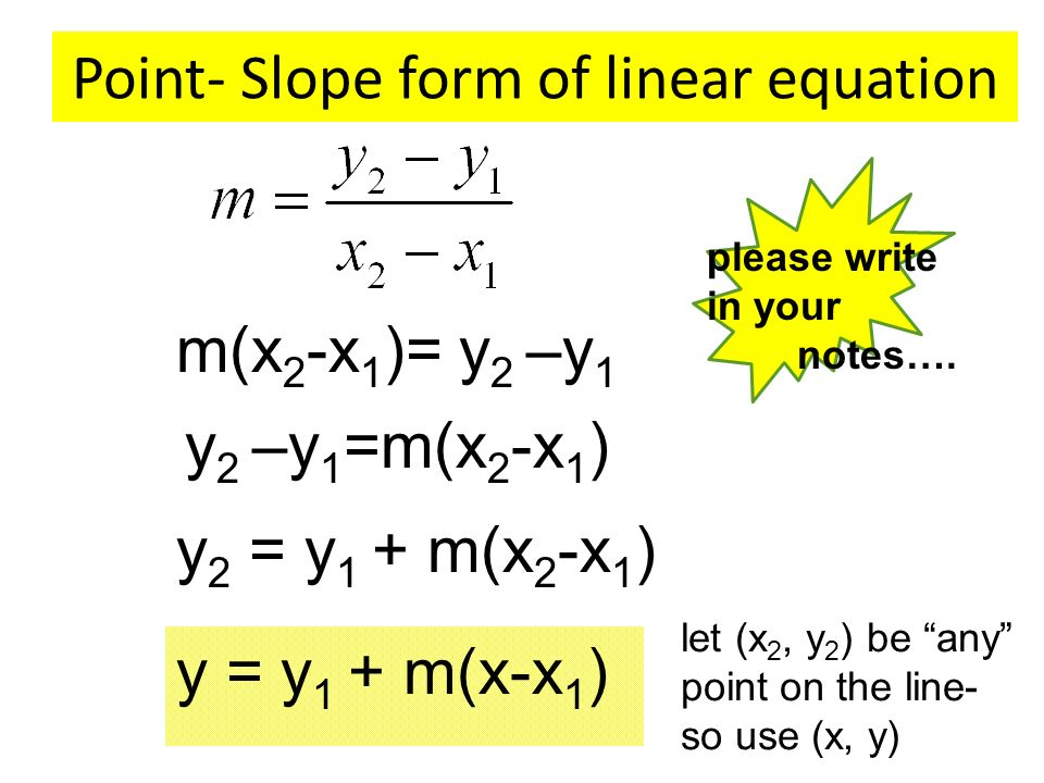 Point Slope Formula Practice Writing Equations In Slope Intercept