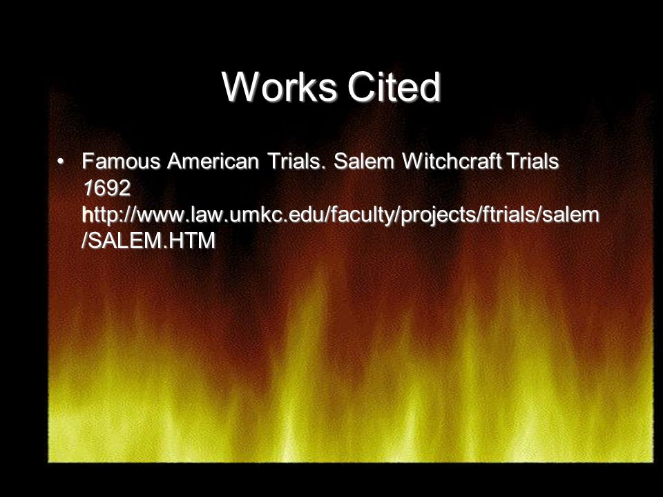Puritan Beliefs And The Salem Witch Trials