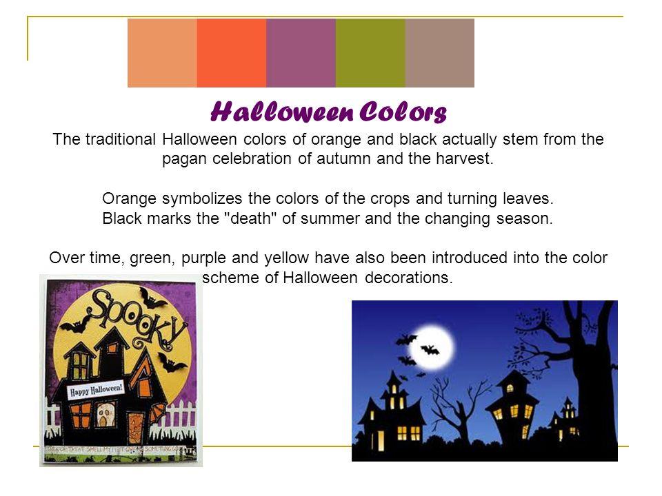 14 halloween colors