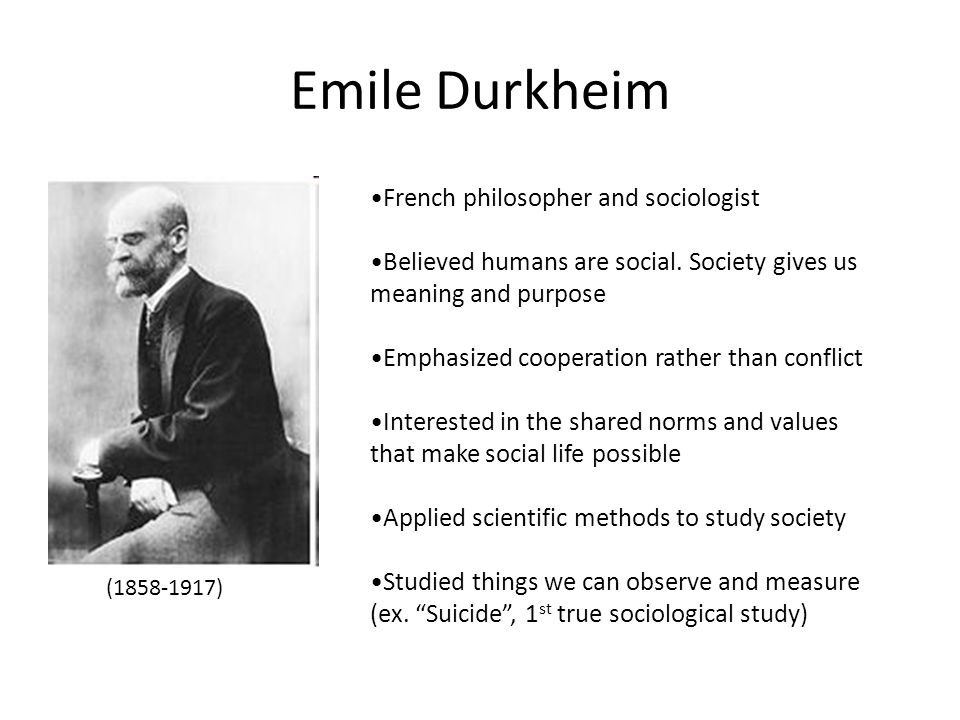 The Social Factual Norms By Durkheim Sociology Essay