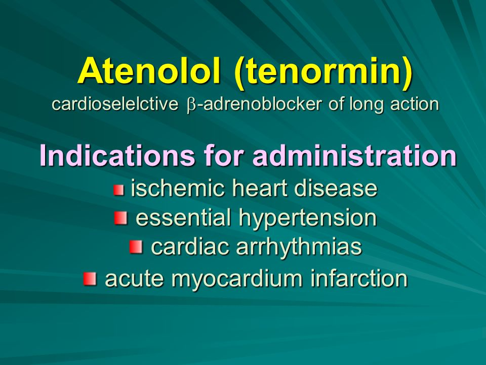 Buy atenolol online