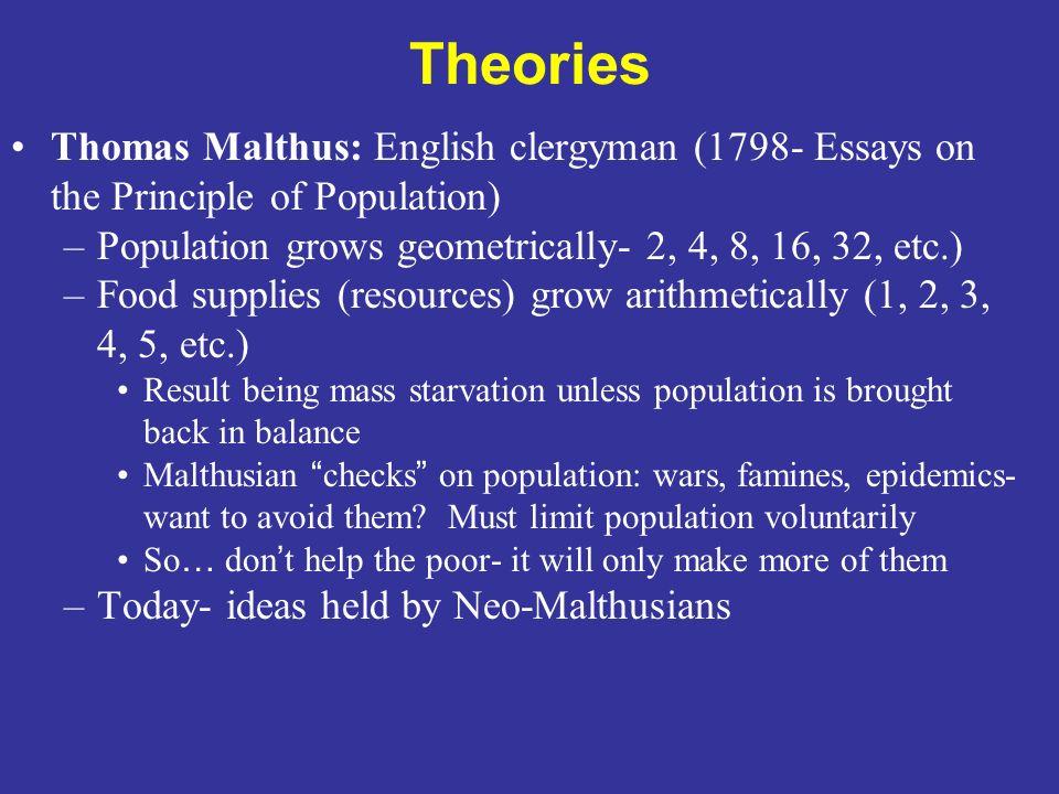 Population essays english