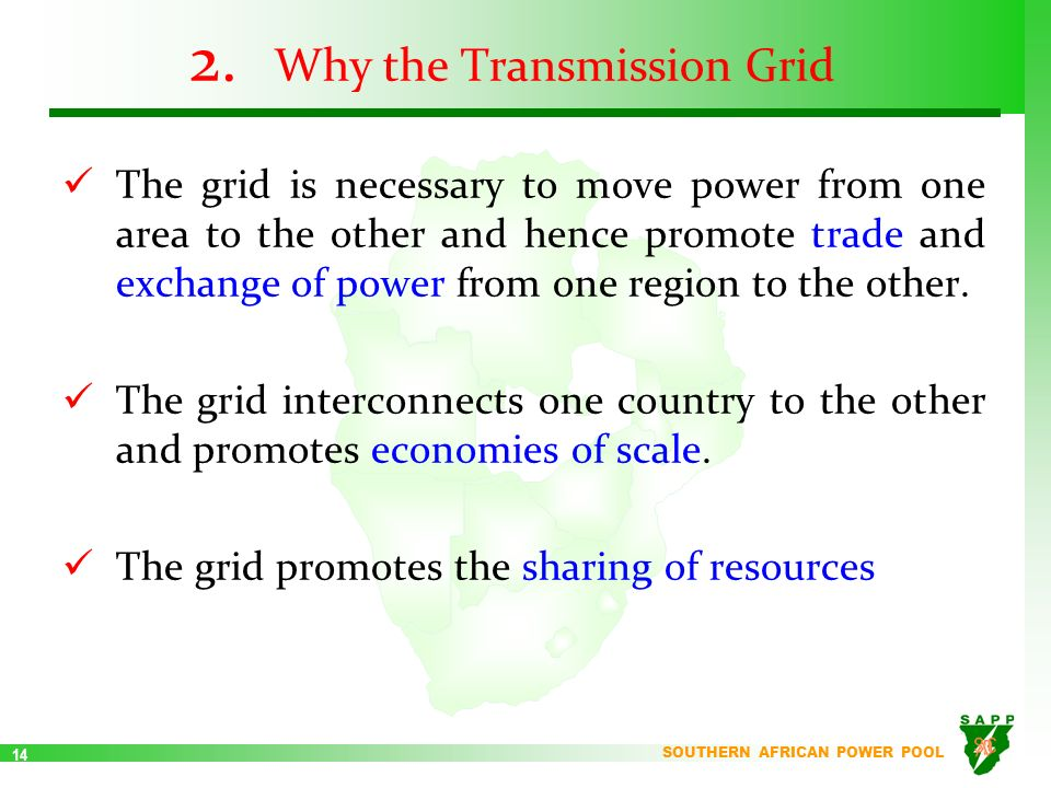 The southern african power pool ppt video online download 14 why the transmission grid sciox Images