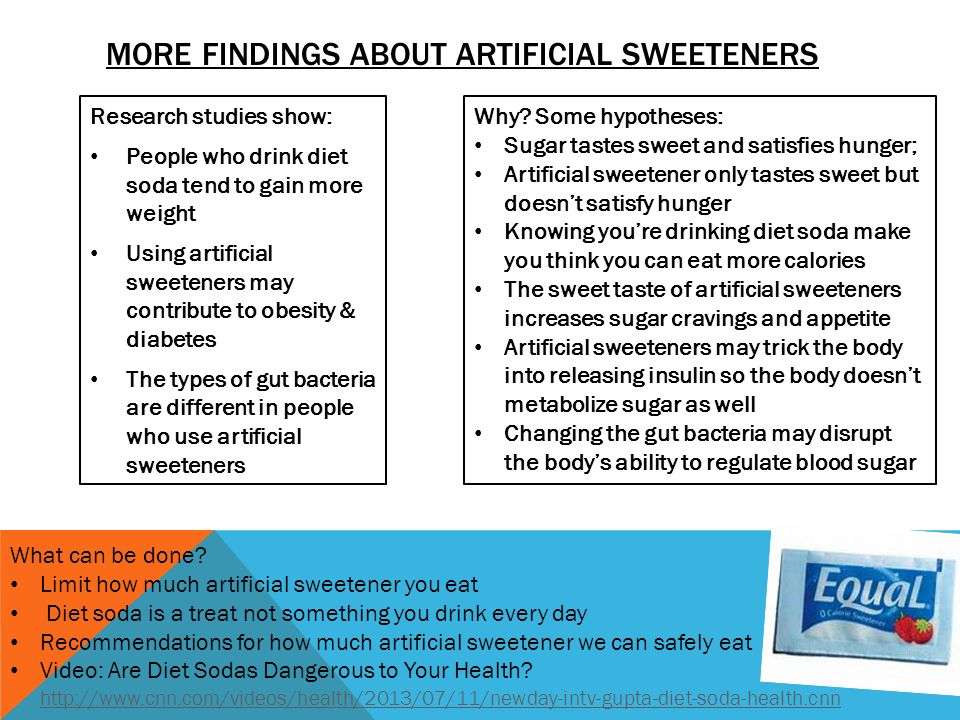 Artificial sweeteners their hidden dangers essay