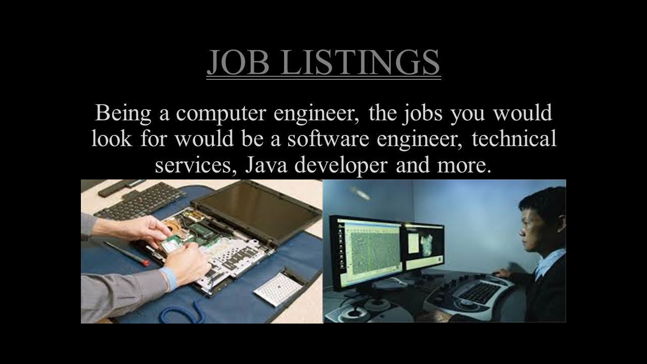 becoming a computer engineer essay Students may pursue computer engineering degrees at all levels from bachelors  to  science degree programs, each with particular graduation requirements   and write essays outlining education and career goals in the engineering sector.