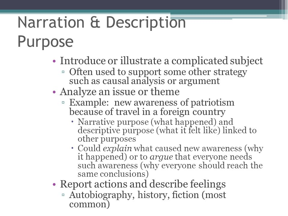essay narration description Synonyms for narrative at thesauruscom with free online thesaurus, antonyms   narrative see definition of narrative adjstorylike, chronological nounstory, tale.