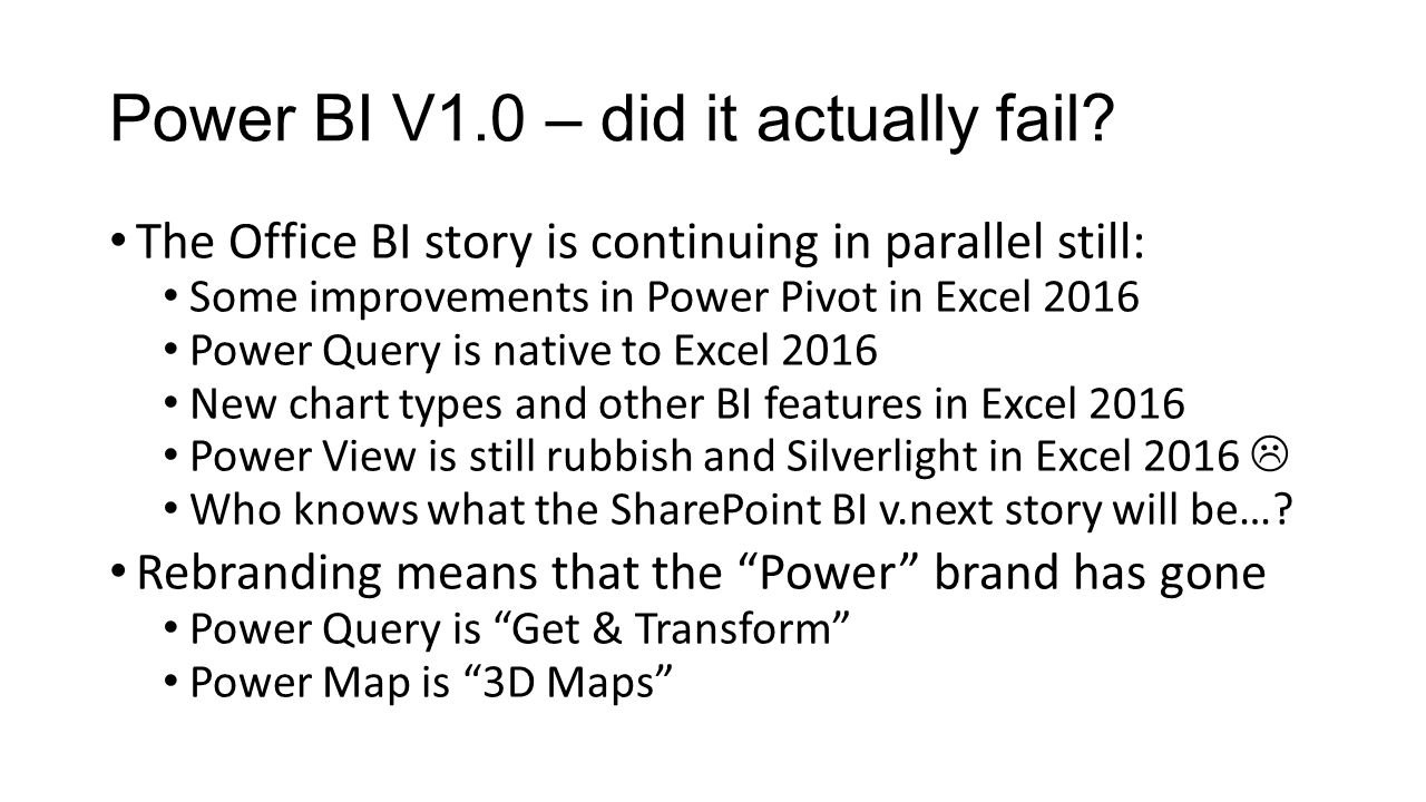 Power Bi V2 0 Is It Any Good Ppt Download