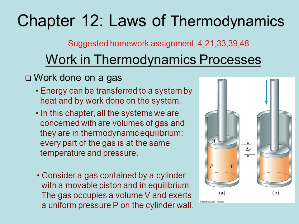 chapter laws of thermodynamics ppt video online  chapter 12 laws of thermodynamics