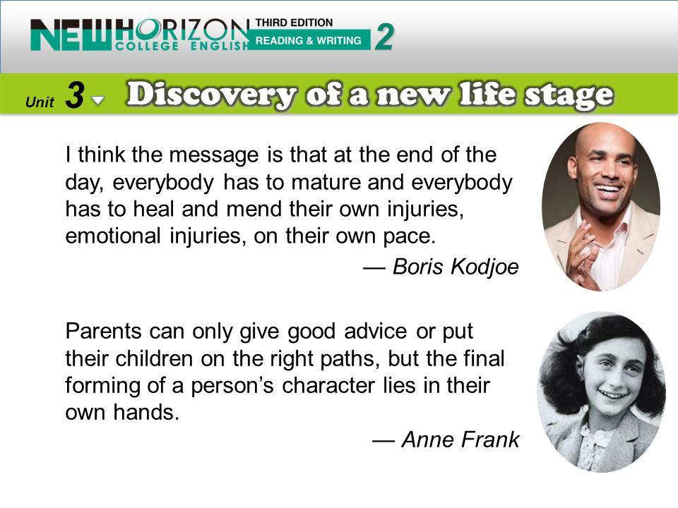 2 3 Discovery of a new life stage — Boris Kodjoe