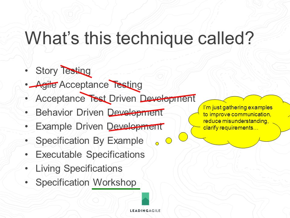 Atdd Bdd Story Testing Specification By Example Ppt Download
