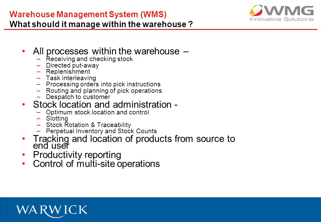 manual warehouse system how to put away product