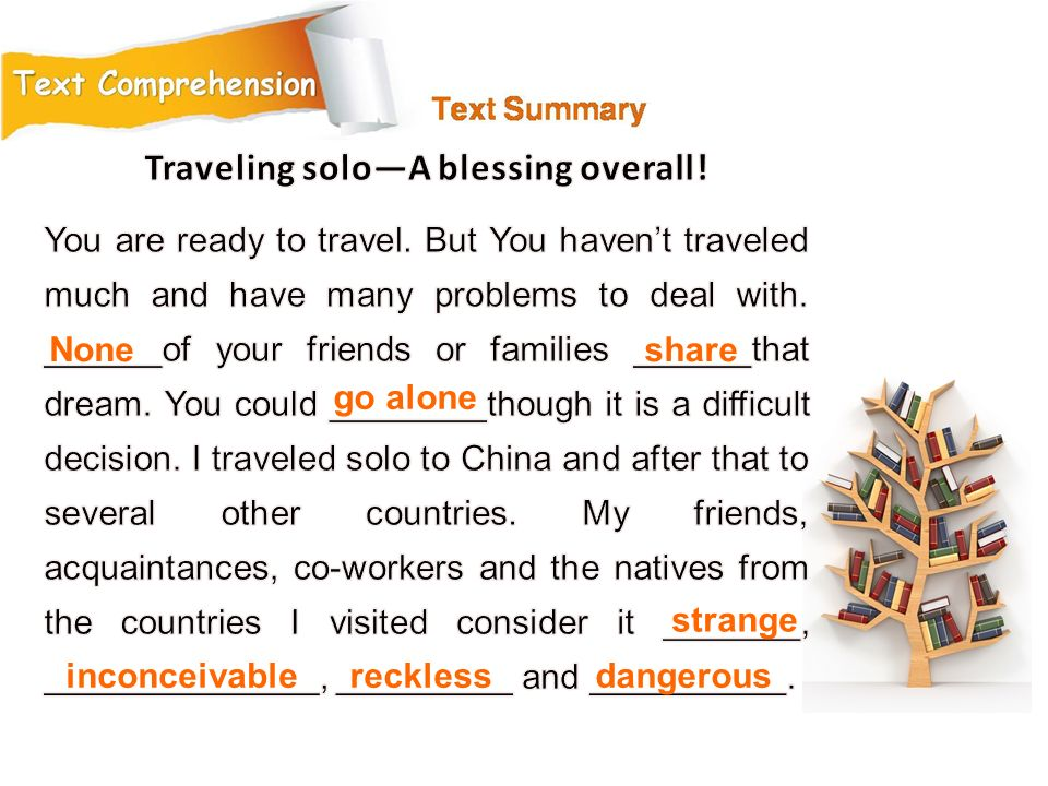 Traveling solo—A blessing overall!