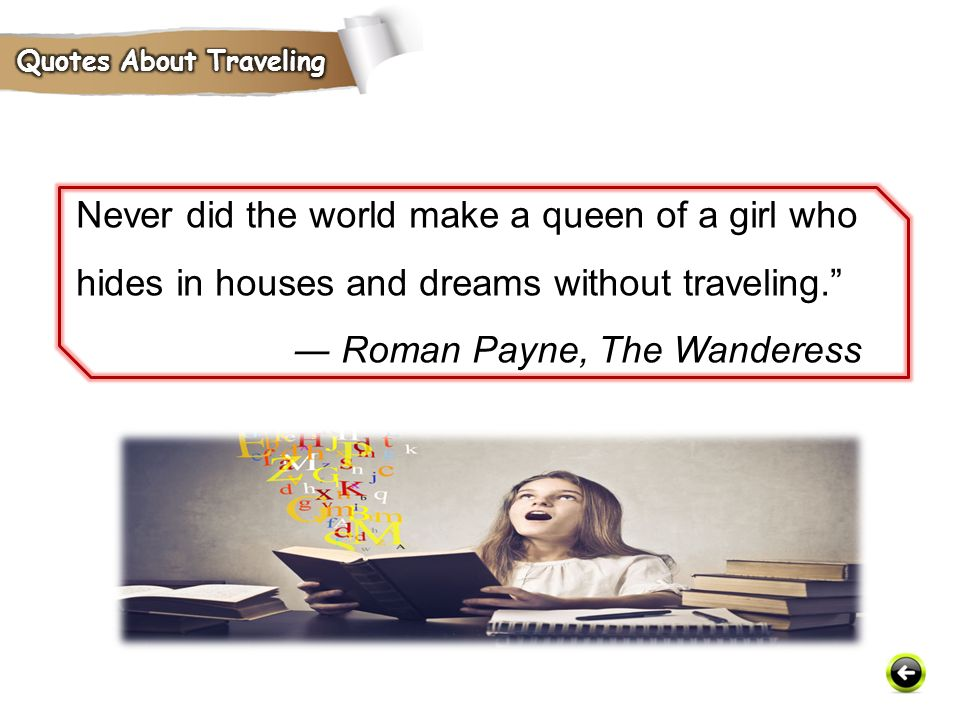 Quotes About Traveling