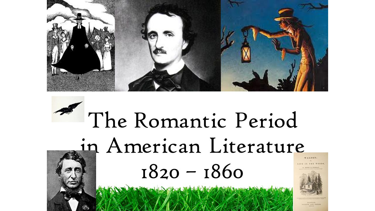an introduction to the american romantic period of literature Introduction, higgins admits that, despite its broad scope, romantic englishness  is not definitive  literature 1780–1830: the romantic period 679   ottoman war, the war of 1812 in north america, and the latin american wars of .